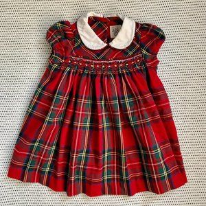 Festive Plaid Dress | 9m